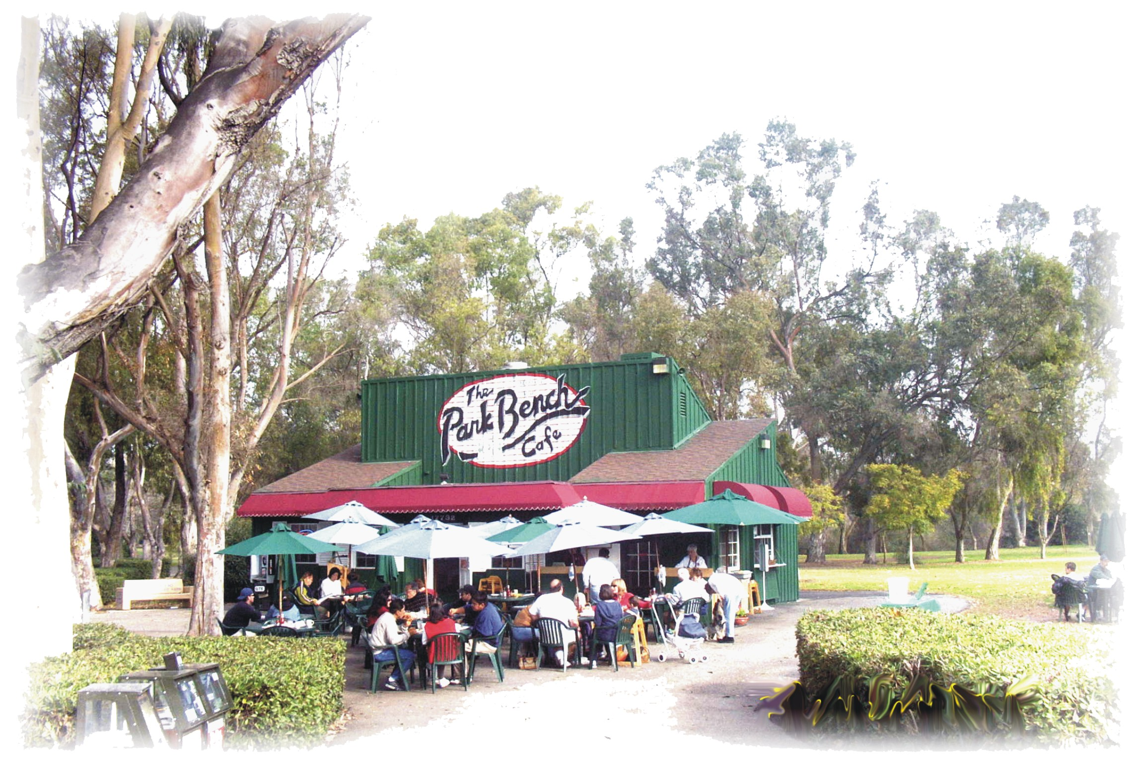 Park Bench Cafe | Huntington Beach Central Park